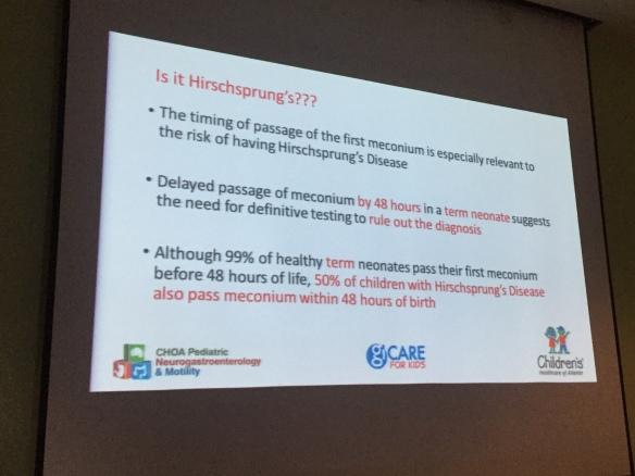 Is it Hirschsprung's Disease?