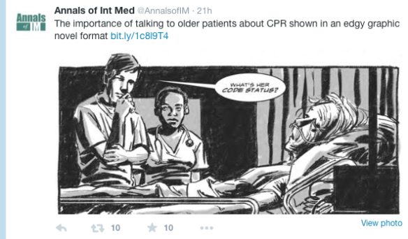 From Annal of Intern Medicine Twitter Feed