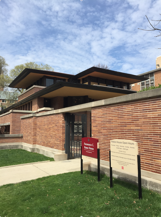 Robie House (at Univ Chicago)