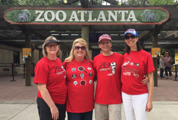 22Q at the Zoo.  More than 100 zoos across the world participate to improve awareness of 22Q deletion syndrome