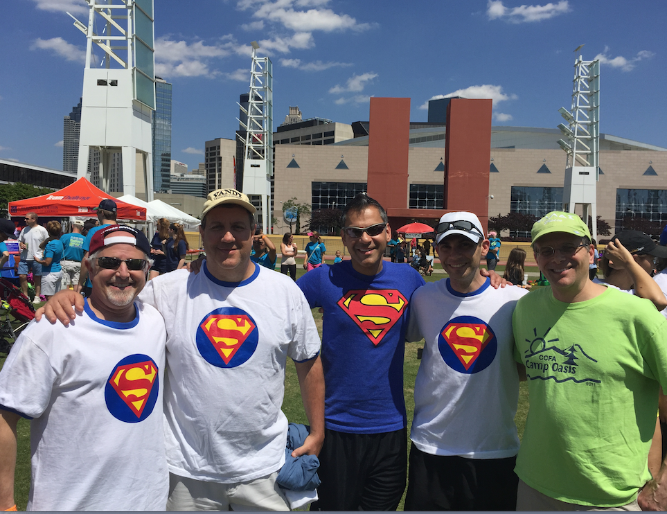 Super Poopers: Ben Gold, Larry Saripkin, Dinesh Patel, Seth Marcus, and Jay Hochman