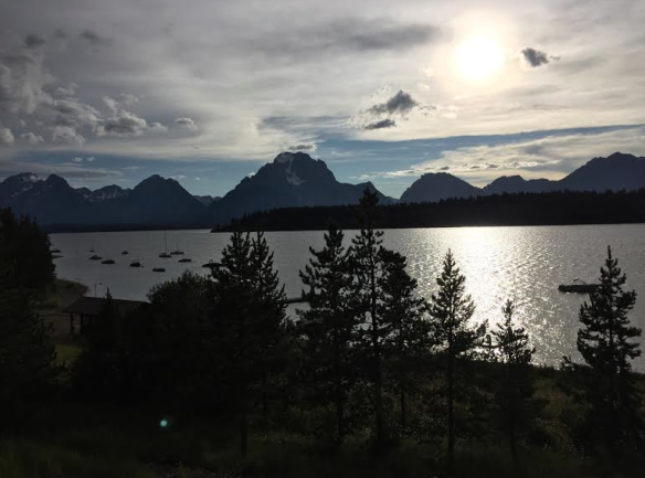 View from Signal Lodge, Grand Tetons
