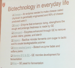 Biotechnology in Our Foods is Ubiquitous