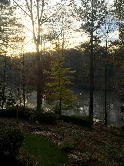 Sunrise in Sandy Springs