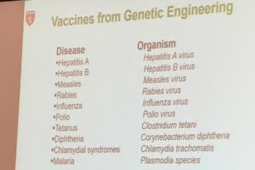 Genetic Engineering Has Allowed Development of Vaccines