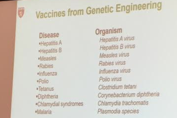Genetic Engineering Has Allowed Development of Vaccines