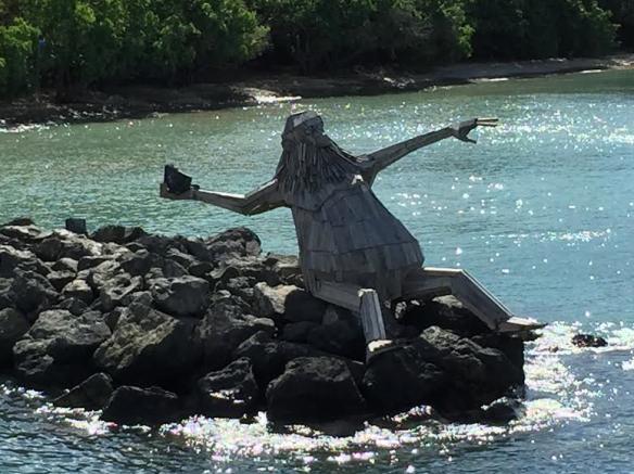 Statue at Ferry Dock, Culebra