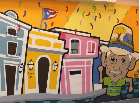 Mural in Old San Juan