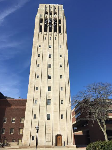Bell Tower, Univ Mich