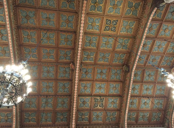 Law Library Ceiling, Univ Michigan