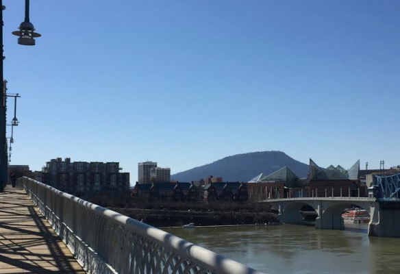 Walnut Street Bridge & Tennessee River