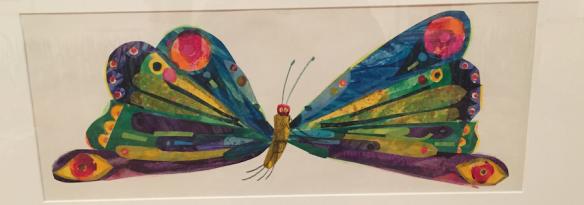 Eric Carle artwork at High Museum