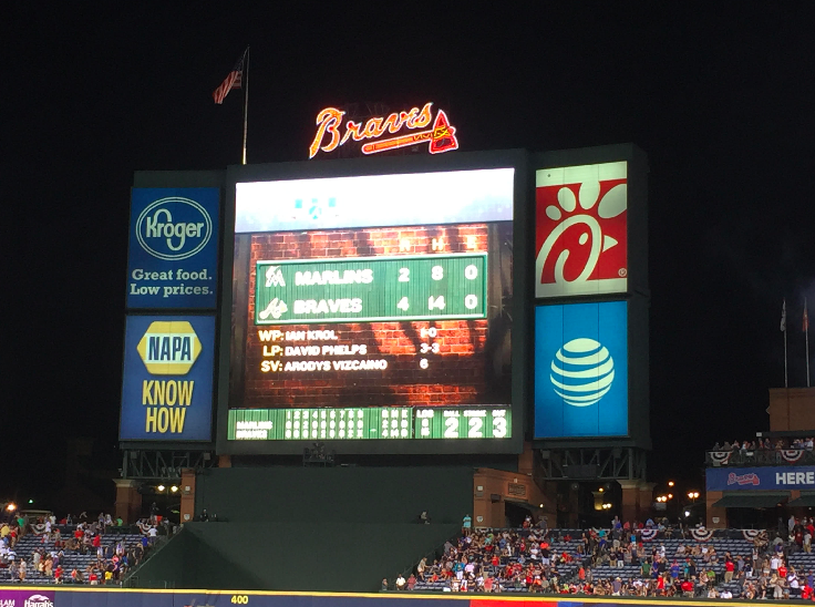 How Much Lower Would The Braves Be Without the Marlins?
