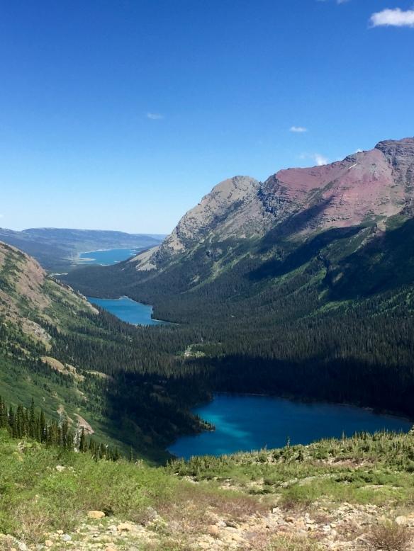 View from Grinnell Glacier Trail, Glacier Nat'l Park