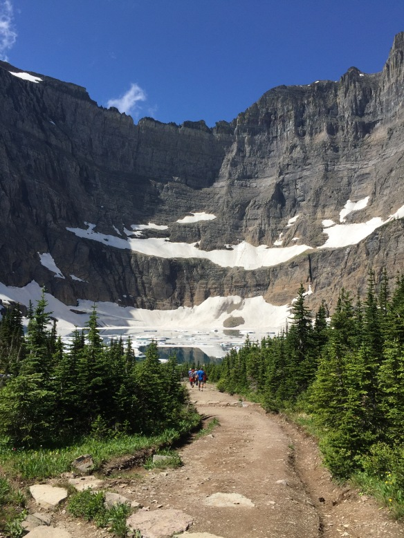 Trail to Iceberg Lake, Glacier Natl Park