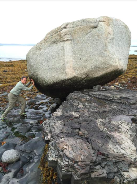 Balancing Rock, Bar Harbor