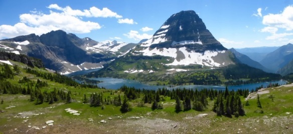 Hidden Lake and Bear Mountain, Glacier National Park