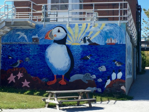 Mural in Rockland, ME