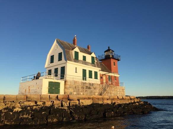 Rockland Harbor Lighthouse