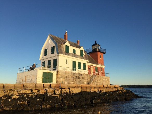 Rockland Harbor Lighthouse