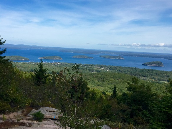 From Cadillac Mountain, Acadia Natl Park