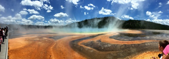 Grand Prismatic Spriing, Yellowstone