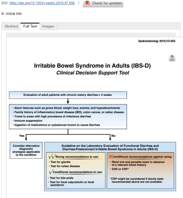 Aga Guidelines For Evaluation Of Functional Diarrhea And Ibs D Gutsandgrowth